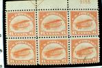 Jenny Biplane Airmail Stamp, Six Cents, Philatelic Endowment Fund, GCPV01P09_06