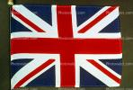 Union Jack, United Kingdom of Great Britain and Northern Ireland, (adopted 1801), Great Britain, British, GFLV01P04_17.2039
