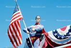 The American Way, Old Glory, USA, United States of America, Superman, GFLV02P13_01