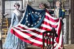 1776, Betsy Ross, 13-Stars Flag, American Revolution, Original Thirteen Colonies
