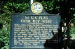 1st U.S. Flag over Key West, Florida