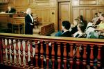 Court Session, judge, lawyer, jury, Trial, Juror, People, talking, speaking