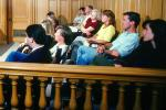 Jury, Juror, People, Trial, Court Session, GJLV01P02_17B