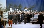 Crowds, Banners, Cadillac Limousine, Barry Goldwater Presidential Campaign 1964, 1960s, GNUV01P06_11