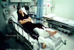 injured, injury, female, woman, women, lady, foot, broken, leg, fracture
