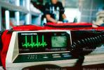 Heart Monitor, Cardiac Arrest, Physio-Control, Portable, Lifepak 10, ambulance, heart beats, Physio Control