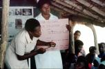 Nurses, Teaching Mothers Basic Health Care for their Children, Rushinga Zimbabwe, HOFV01P04_11