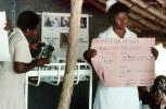 Nurses, Teaching Mothers Basic Health Care for their Children, Rushinga Zimbabwe, HOFV01P04_12