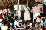 Nurses, Teaching Mothers Basic Health Care for their Children, Rushinga Zimbabwe, HOFV01P04_16