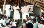 Nurses, Teaching Mothers Basic Health Care for their Children, Rushinga Zimbabwe, HOFV01P04_17