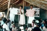 Nurses, Teaching Mothers Basic Health Care for their Children, Rushinga Zimbabwe, HOFV01P04_18