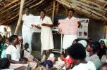 Nurses, Teaching Mothers Basic Health Care for their Children, Rushinga Zimbabwe, HOFV01P04_19