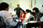 Teaching Mothers how to take care of their Children, Well Baby Clinic, Colonia Flores Magon, HOFV01P08_12