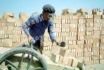 Bricks, Brickmaking, Linxia, Gansu, China
