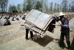 Linxia, Gansu, China, bricks, brickmaking