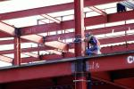 Welder, Welding, Steel Framing, Office Building, ICCV02P02_15