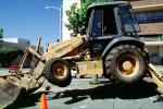 Case 580 Super L (580SL) Loader Backhoe, wheeled earthmover, earthmoving, Mission Bay Project, ICCV07P15_17