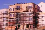 Scafollding, Apartment Buildings, ICDV01P12_07