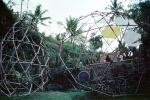 Constructing a Geodesic Dome, Bamboo Framing, ICDV03P04_10
