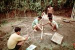 Constructing a Geodesic Dome, Bamboo Framing, ICDV03P04_14