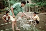 Constructing a Geodesic Dome, Bamboo Framing, ICDV03P04_15