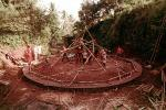 Constructing a Geodesic Dome, Bamboo Framing