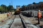 Laying down new Rails, 2014, Construction for the new SMART train, ICRD01_030
