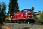 RailPower RP20BD, NWP 2009, Laying down new Rails, 2014, Novato California, Construction for the new SMART train, ICRD01_039