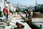 Installing Fiber Optic Cable, Intersection of 17th street and Mississippi streets, Potrero Hill, ICSV02P11_16