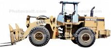 Panorama, John Deere 644G Wheel Loader, 4WD, Earthmoving, earthmover, wheeled, photo-object, object, cut-out, cutout, ICSV03P09_13F