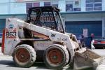 Bobcat 863 Skid Steer Loader, Earthmoving, Earthmover, wheeled, ICSV03P09_17