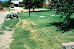 Drain Project, Pipeline, Sewer Pipes, lawn, Wheat Ridge Colorado, September 1973, 1970s