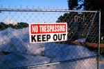 no tresspassing, Student Housing Building Implosion, San Francisco State University, ICWV02P04_19