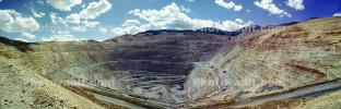Panorama of the Bingham Canyon Mine, Utah, IMCV01P04_01B