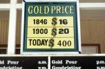 Historical Gold Prices, Gold Reef City, Johannesburg, South Africa, IMGV01P02_07