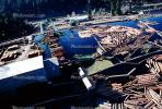 Log Rafts, Lumber Mill, Humboldt County, IWLV01P06_06