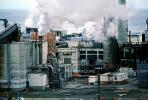 Smoke, Air Pollution, soot, Pulp Mill, building, Port Angeles, IWLV01P07_16
