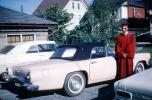 Thunderbird, Convertible, Cabriolet, Car, Graduation, Boy, Man, Women, Nurse, 1960's, KECV03P09_12