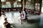 Schoolroom, Sevagram, India, 1984, 1980s