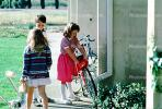 Kids coming to school, School building, KEDV01P06_19