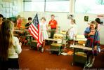 Pledge of Allegiance, classroom, Students, KEDV01P09_10