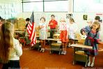 Pledge of Allegiance, classroom, Students, KEDV01P09_14