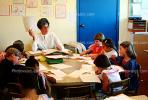 Teacher and Students, classroom, KEDV02P02_11