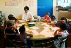 Teacher and Students, classroom, KEDV02P02_13