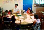 Teacher and Students, classroom, KEDV02P02_14