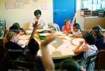 Teacher and Students, classroom, KEDV02P02_16