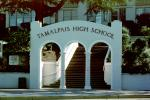 Tamalpais High School, Mill Valley, Portal, stairs, steps
