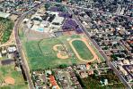 baseball field, running track, Orange County, California, KEDV04P13_01