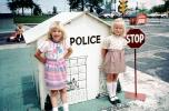 Police, STOP sign, July 1985, 1980s, KEPV01P03_09