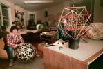 Isamu Noguchi Studios, preparing displays for Cooper Hewitt Museum Exhibit, Long Island City, KSFV01P02_03